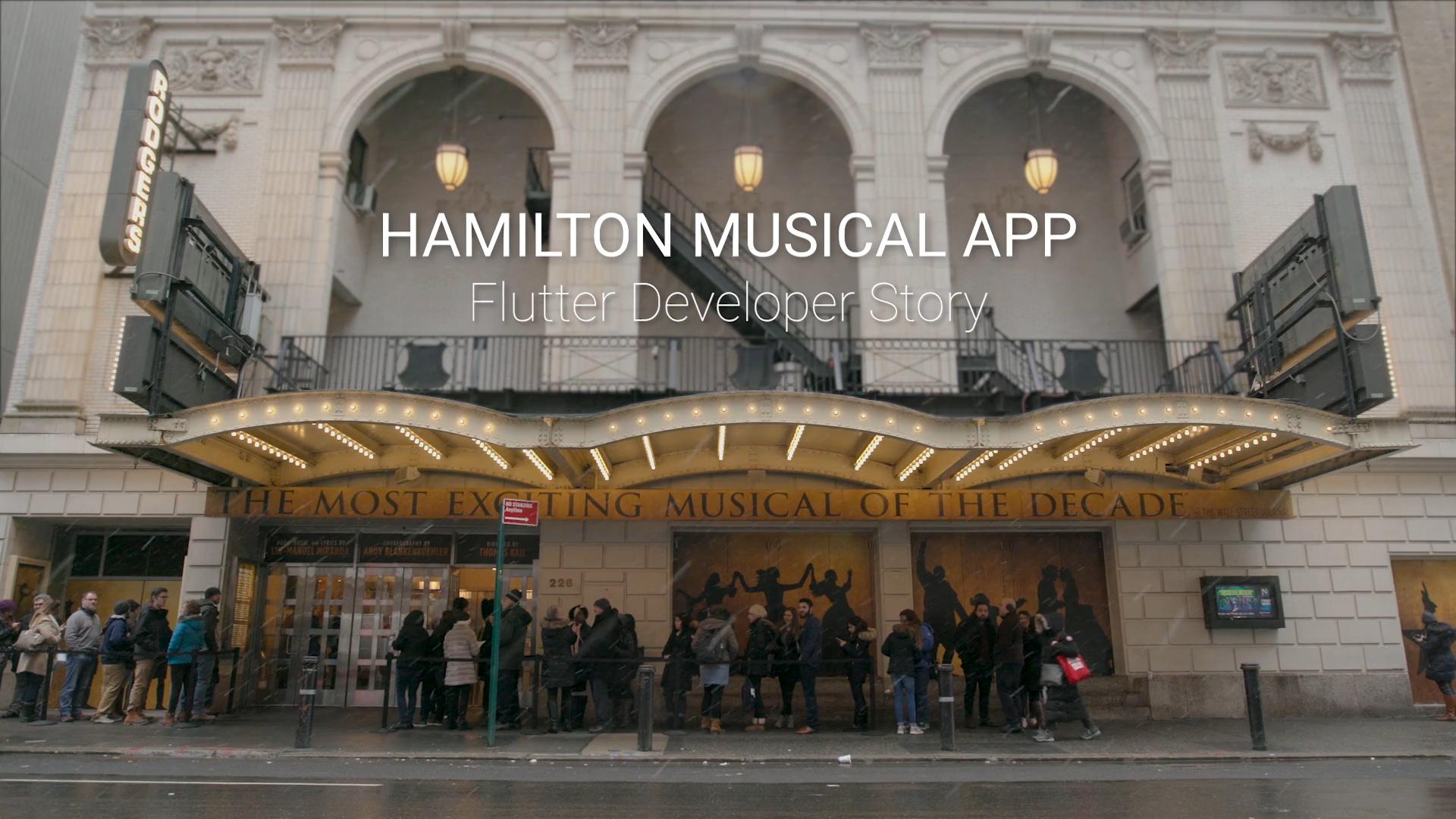 Hamilton Musical App: Flutter Developer Story - Rocketship